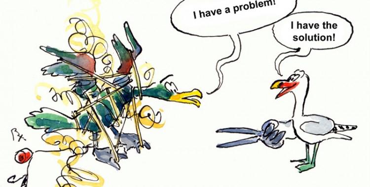 Oltanın Ucunda Kuşun Ne İşi Var?
